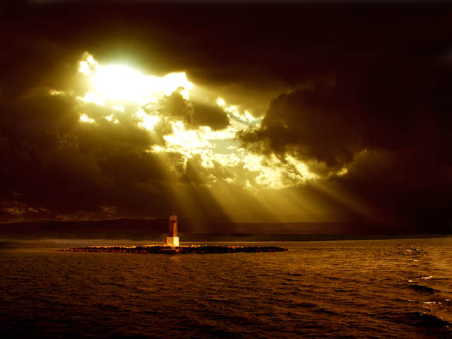 Heaven lighthouse